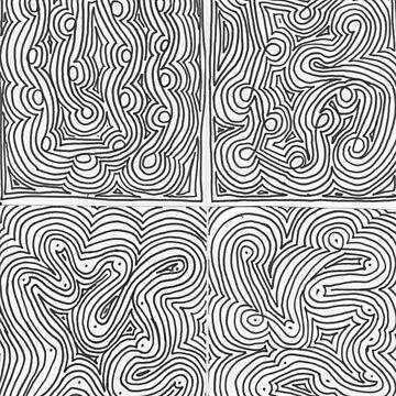 Concentric Quatrain by withak
