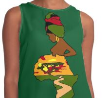 Mother Africa  Contrast Tank