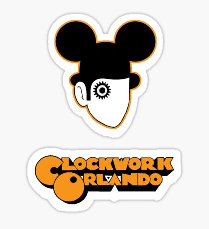Clockwork Orlando - headshot Sticker