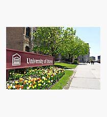 Ottawa 1: University of Ottawa Photographic Print