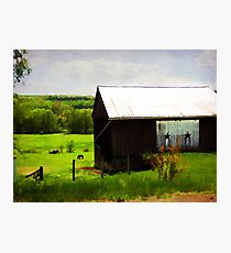 Beautiful Country Setting Photographic Print