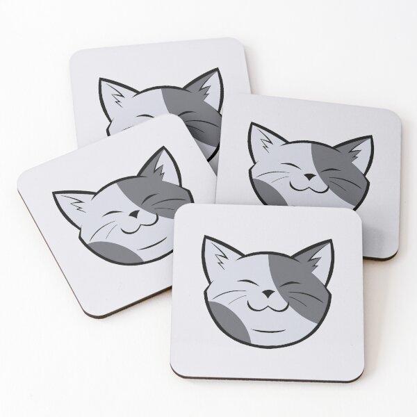 Happy Cat! Coasters (Set of 4)