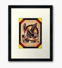 Spitshading 062 Framed Print