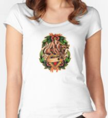 Spitshading 061 Women's Fitted Scoop T-Shirt