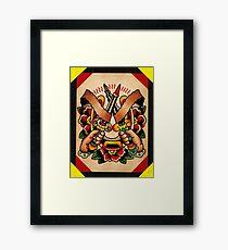 Spitshading 064 Framed Print