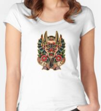 Spitshading 066 Women's Fitted Scoop T-Shirt
