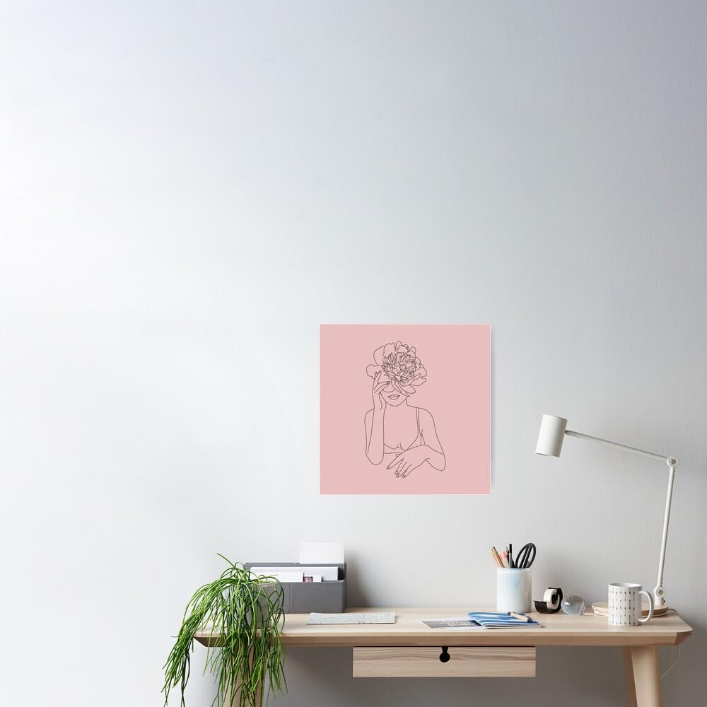 Lotus Girl Poster