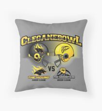 Brother vs Brother Throw Pillow