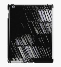 Graphite abstraction iPad Case/Skin