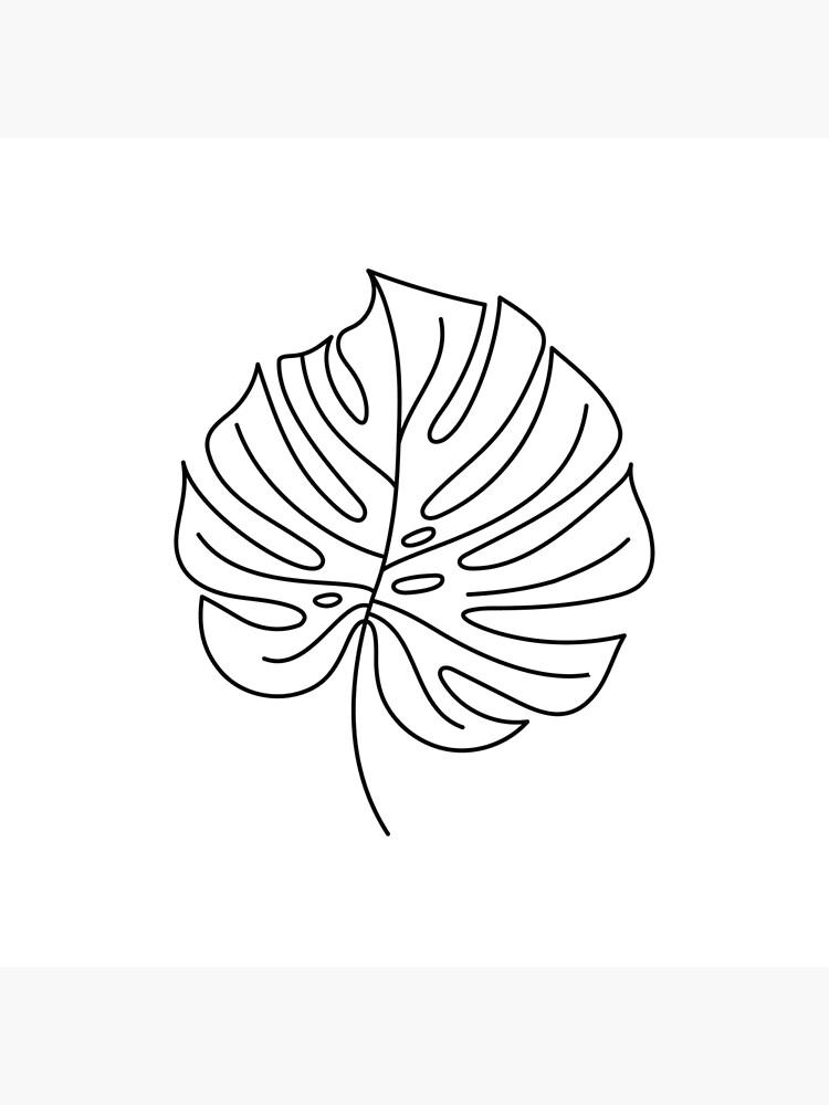 Palm Line Art by TapestryGirls