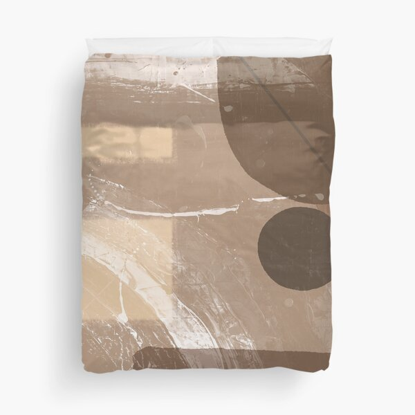 Abstract in Brown 3 Duvet Cover