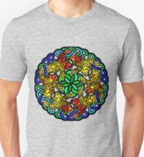 Koi Mandala - Nature Meditation - Water Jewel T-Shirt