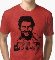 Pablo Escobar Mugshot Tri-blend T-Shirt