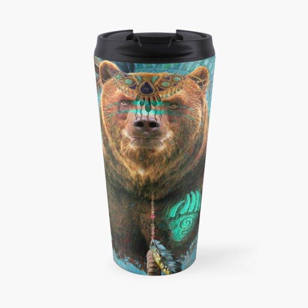 Brown Bear Spirit  Travel Mug
