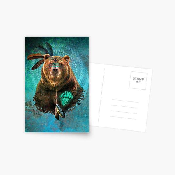 Brown Bear Spirit  Postcard