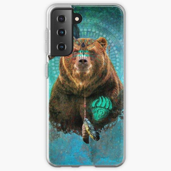 Brown Bear Spirit  Samsung Galaxy Soft Case