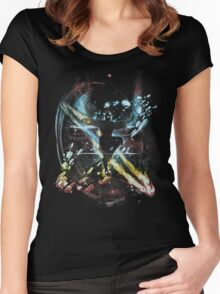 dancing with elements Women's Fitted Scoop T-Shirt