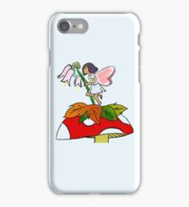 Pink and Blue Flower Fairy iPhone Case/Skin