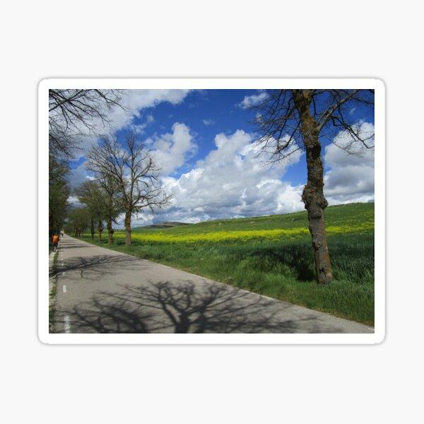 Walking La Meseta Sticker