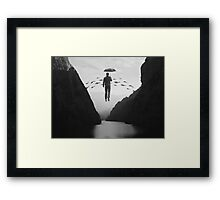 Journey to the Unknown Framed Print