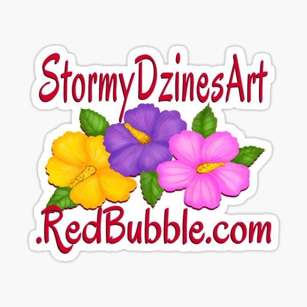 StormyDzines Art Advert Sticker