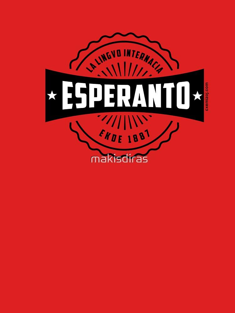 Esperanto, La Lingvo Internacia, Ekde 1887 - Nigra by makisdiras
