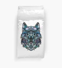 Snow Wolf Duvet Cover