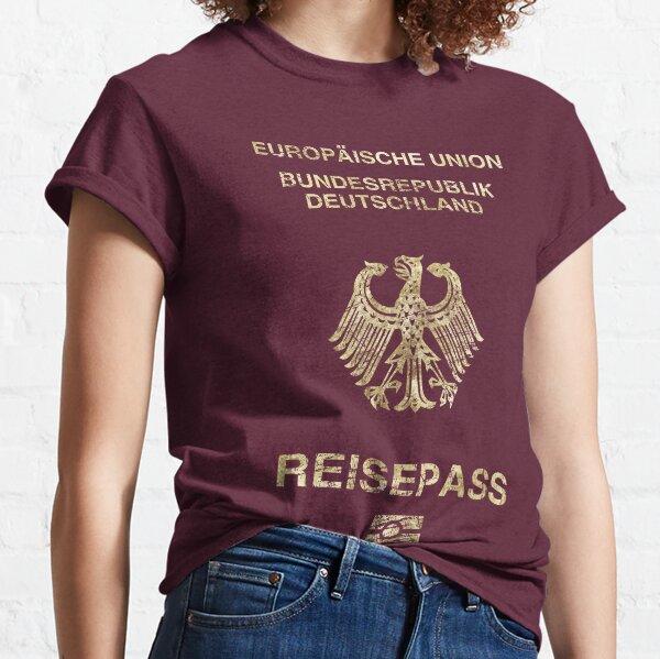 German Passport Vintage Classic T-Shirt