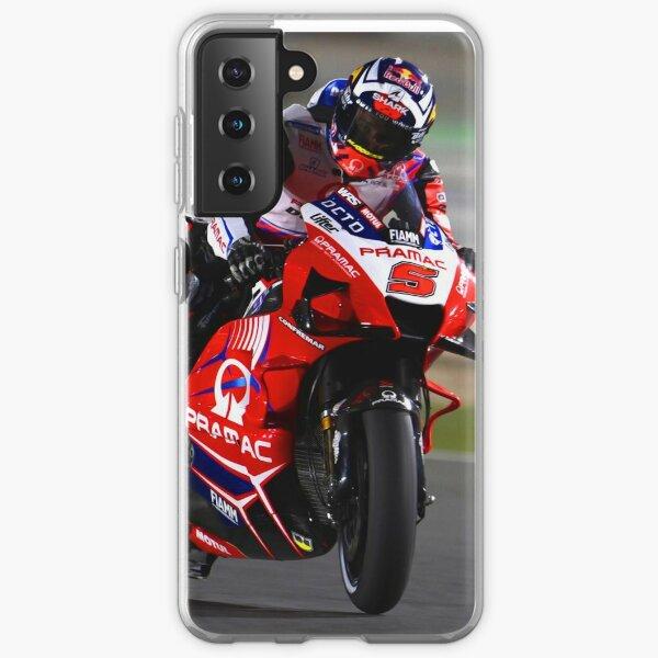 Johann Zarco pilote sa moto MotoGP 2021 Coque souple Samsung Galaxy