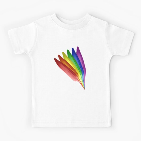 Feathered Pride Kids T-Shirt