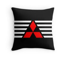 Mitsubishi Throw Pillow Throw Pillow