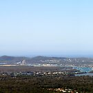 Noosa from Mt Tinbeerwah Lookout by Jenelle  Irvine