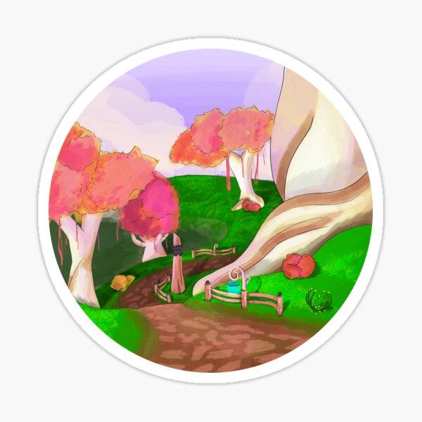 Fantasy Landscape Sticker