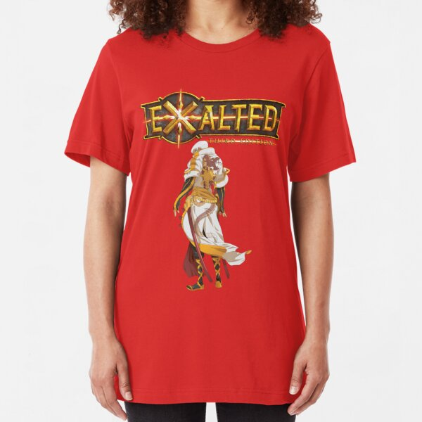 Exalted: Tale of the Visiting Flare - Eternal Nova Slim Fit T-Shirt