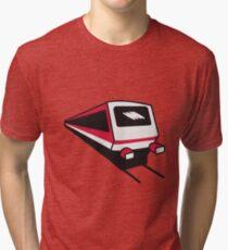 Train express train railway Tri-blend T-Shirt