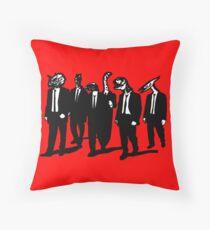 Reservoir Dinos Throw Pillow