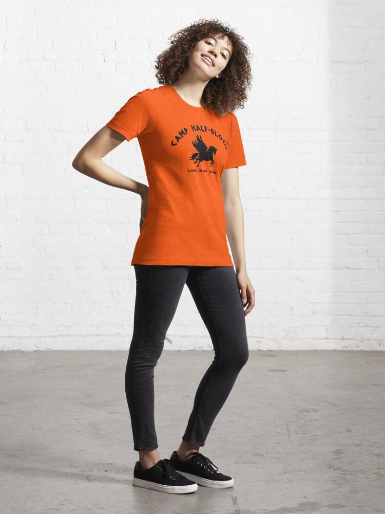 Alternate view of Camp Half Blood: Full camp logo Essential T-Shirt