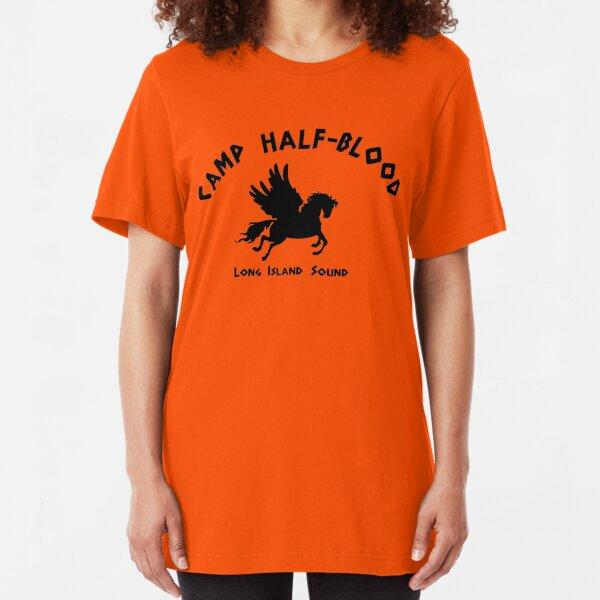Camp Half Blood: Full camp logo Slim Fit T-Shirt
