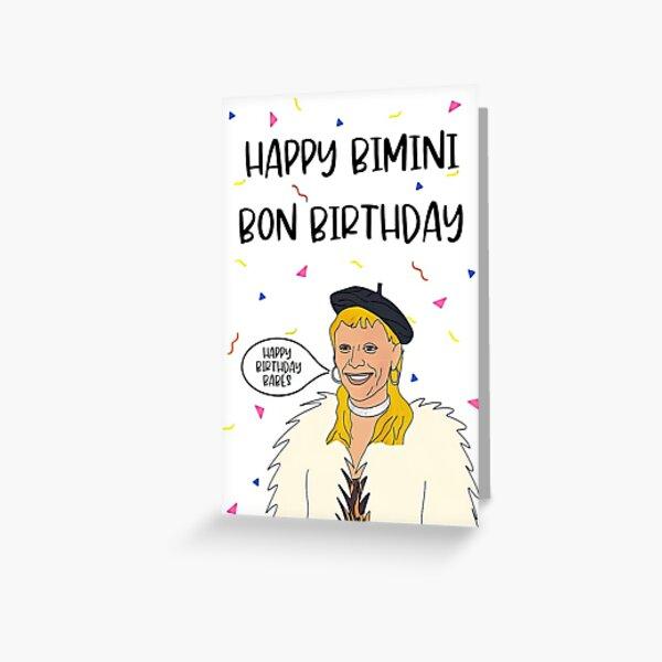 mother Birthday Card, Funny Birthday Card, Retro Mature,RuPaul Drag race UK Birthday card, Bimini Bon Boulash Birthday Card, ru Paul's drag race, funny birthday, mother, mothers day Greeting Card