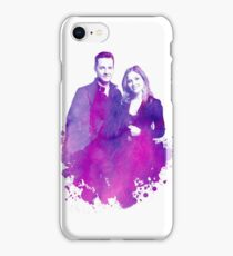 """Watercolor Linstead/Bushfer """"Chicago PD"""" iPhone Case/Skin"""