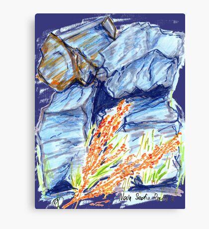 Nova Scotia Rocks 2 Canvas Print