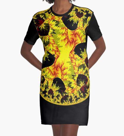 Mandala VI Graphic T-Shirt Dress