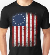 USA 13 Star 1776 Flag T-Shirt