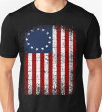USA 13 Star 1776 Flag Unisex T-Shirt