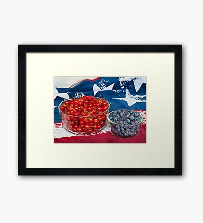 Getting Ready for the Holiday Framed Print