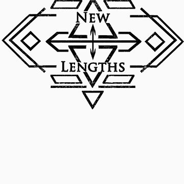 NewLengths_IndieLogo_Black&White Design by turtlefreak100