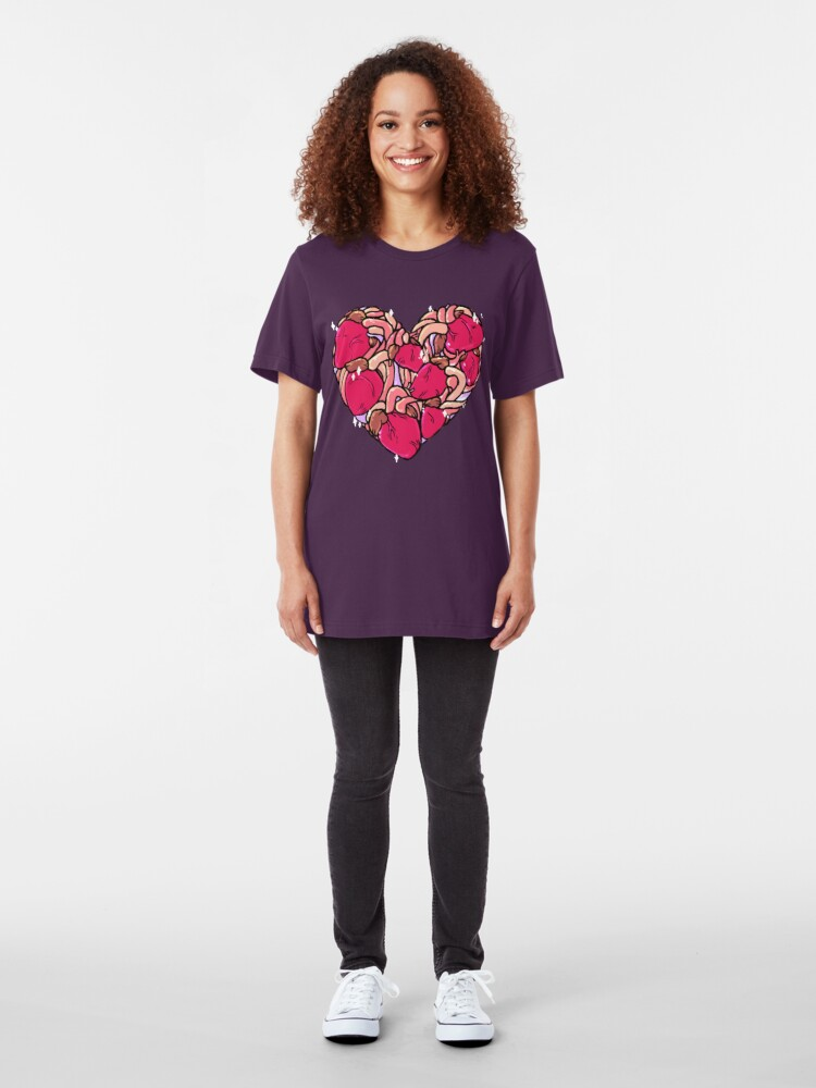 Alternate view of Heart of Hearts Slim Fit T-Shirt
