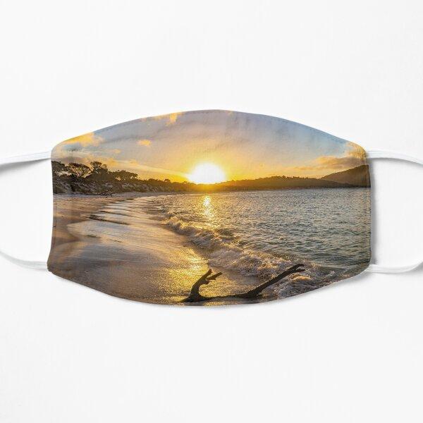 Beautiful Beach Sunset Australia Flat Mask