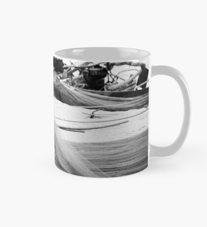 A Fisherman and his Nets - China Mug