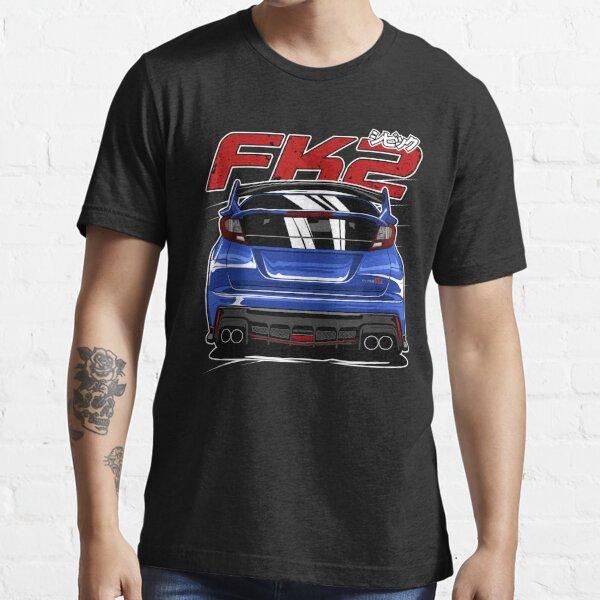 Bleu Civic FK2 Type R T-shirt essentiel